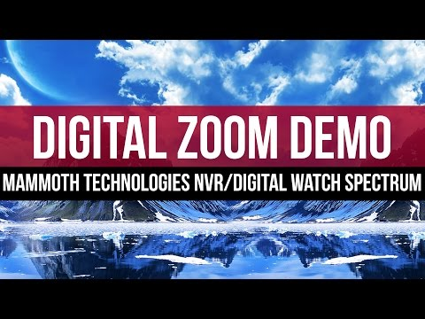 Digital Zoom Feature: Mammoth Technologies NVR with Digital Watch Spectrum