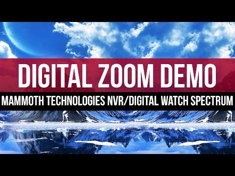 Digital Zoom Feature: Mammoth Technologies NVR with Digital Watch Spectrum