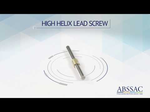 ABSSAC 2020 High Helix Leadscrew