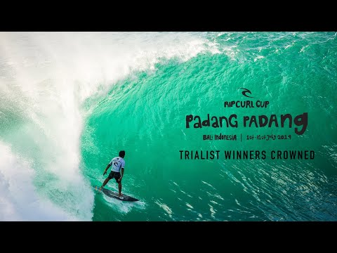 Trial Winners Crowned | Rip Curl Cup 2019, Padang Padang, Bali