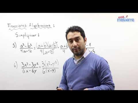 Fracciones algebraicas 2