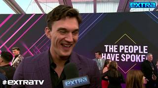Tyler Cameron's Complimentary Words About Hannah Brown at People's Choice Awards