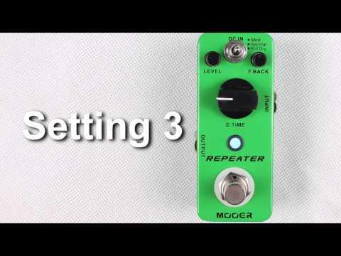 Mooer Audio Repeater Digital Delay Pedal