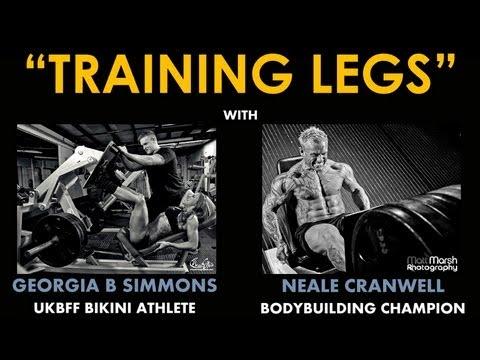 Neale Cranwell & Georgia B Simmons : Training Legs Part 3