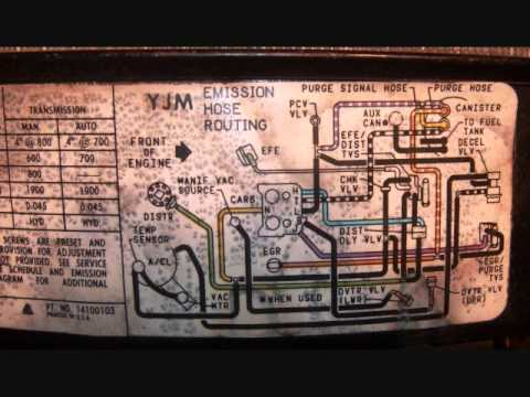 gm fuel pump wiring 1986 chevy k20 vacuum diagram youtube  1986 chevy k20 vacuum diagram youtube