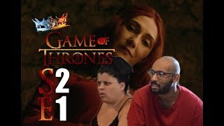 "Game of Thrones S2 E1 ""The North Remembers"" - REACTION (Part 1)"