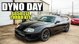 HOW MUCH POWER will eBay turbo Supra make?? DYNO DAY!