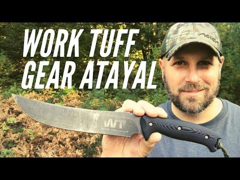 Work Tuff Gear Atayal: Great Knife Based On Taiwanese Indigenous Tribe Knife