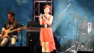 20120930 新北市民歌演唱會 Della丁噹 02 恰似你的溫柔