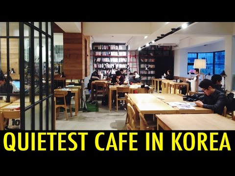 Quietest Cafe in Korea (KWOW #155) - sweetandtasty  - 0EAzRjjz6gA -