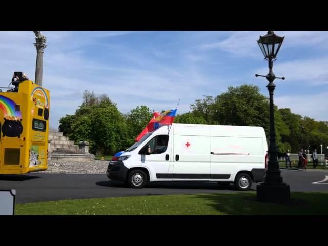 Видеоотчёт наших читателей с «Бессмертного полка» из Дублина