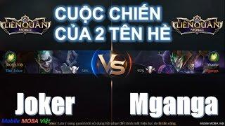 Liên Quân Mobile: The Joker vs. Mganga - Cuộc chiến của hai tên hề  :)