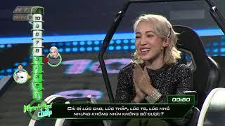 Emily nhẹ nhàng vượt qua Khương Ngọc | NHANH NHƯ CHỚP | #HTV NNC #1 | 23/3/2019