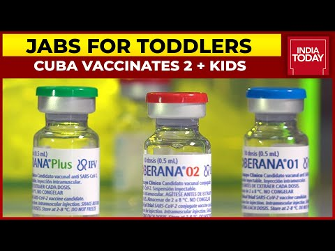 Cuba Becomes First Country To Vaccinate Kids Aged 2 Years | India Today