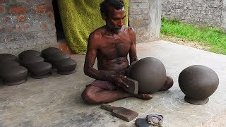Pot Making With CLAY; Amazing Talent of Indian Potter in Village / Small Scale IndustrieS