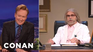 Conan Speaks To Donald Trump's Doctor  - CONAN on TBS