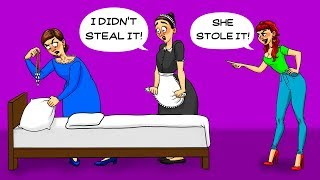 DO YOU BELIEVE THE MAID? 11 CRIME RIDDLES TO TEST YOUR LOGIC