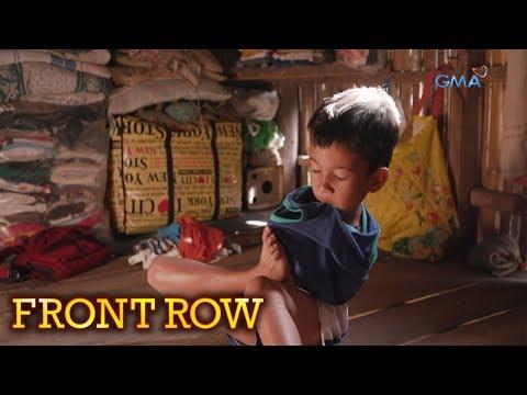 Front Row: 9-anyos na bata sa Madalag, Aklan, tumutulong sa magulang kahit walang mga braso't kamay