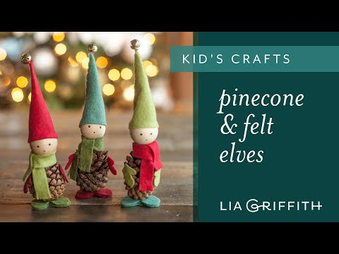 How To Make Pine Cone Elves