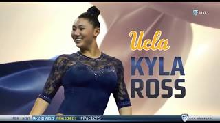 Pac-12 Gymnast of the Meet - Kyla Ross (UCLA) - Ohio State at UCLA 2018