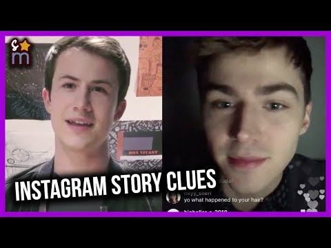 13 REASONS WHY Character Instagram Stories Give More Season 2 Clues - Alex, Courtney, Sheri