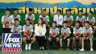 Thai soccer team speaks for first time since rescue