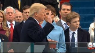 Donald Trump Sworn in as 45th President of the United States 1/20/17