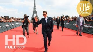 Mission Impossible Fallout premiere arrivals: Tom Cruise, Henry Cavill, Michelle Monaghan in Paris