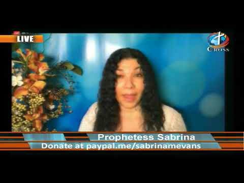 Prophetess Sabrina M. Evans ( it's Supernatural it's Real ) 05-27-2020