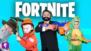 FORTNITE Adventure HobbyKids In the Game! Pretend Play with HobbyHickory
