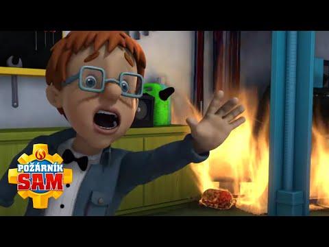 Požiarnik Sam - Normanov film v plameňoch