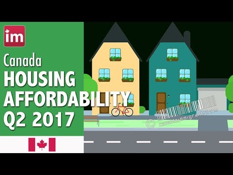 Housing Affordability in Toronto, Vancouver, Calgary, Montreal (Q2 2017)| Cost of Living in Canada