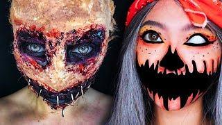 TOP 15 DIY Halloween Makeup Tutorial IDEAS + Costumes 2018