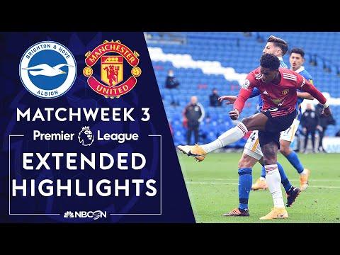 Brighton v. Manchester United | PREMIER LEAGUE HIGHLIGHTS | 9/26/2020 | NBC Sports