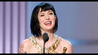 Diablo Cody winning an Original Screenplay Oscar®
