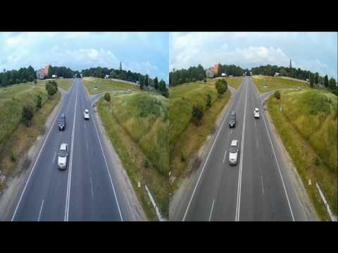 Panorama from the Bridge 3D! 3D VIDEO