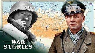 Patton And Rommel Showdown In Tunisia | Greatest Tank Battles | War Stories