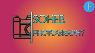 HOW TO MAKE STYLE PHOTOGRAPHY LOGO IN ANDROID | PIXELLAB TUTORIAL #SOHEB