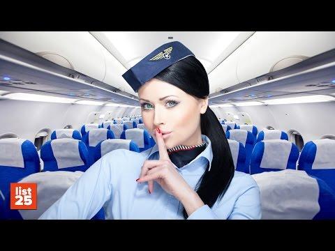 25 SECRETS Flight Attendants Know That You Don't