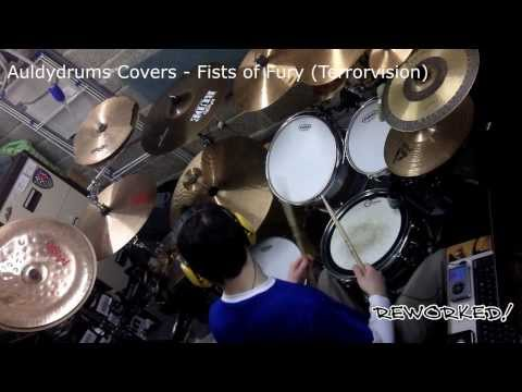 Auldydrums Covers - Fists of Fury (Terrorvision)