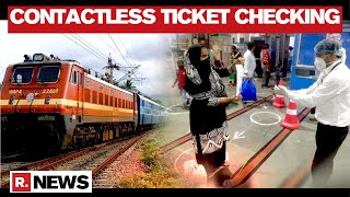 Indian Railways launch contactless ticket checking in Mumb..