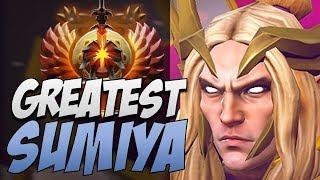 Sumiya Invoker - Amazing Rank 1 in 7.20   Dota Gameplay