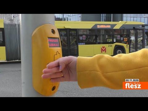 Flesz Gliwice / Przyciski przy przejściach dla pieszych pozostaną w trybie dotykowym