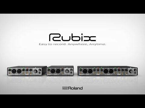 video Roland Rubix22 USB Audio Interface