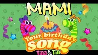 Tina&Tin Happy Birthday MAMI