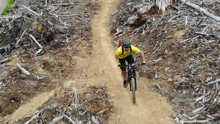 Mountain Biking Raging River