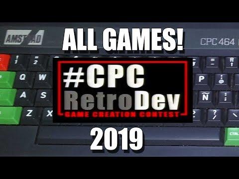 AMSTRAD CPC: CPCRETRODEV 2019 ALL GAMES