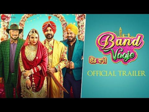 Band Vaaje - Official Trailer - Binnu Dhillon, Mandy Takhar, Gurpreet Ghugi & Jaswinder Bhalla