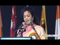 MP Butta Renuka Speech at Women Parliamentarian Meet in Vi..