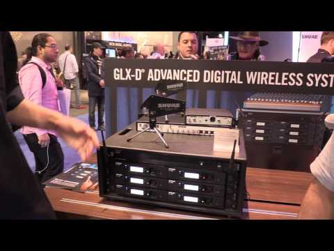 NAMM 2017 - I DJ Now - Geo with Mike from Shure featuring the GLX-D